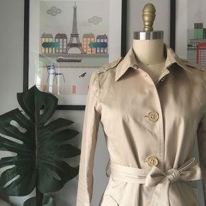 Banana Republic • Cotton Trench Coat